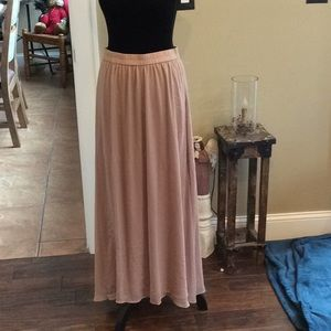 Old Navy maxi skirt AS IS